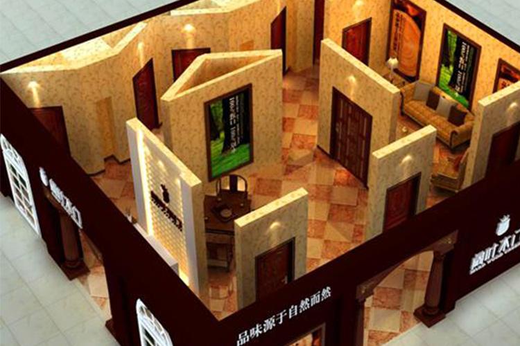 闊葉木門店面設計